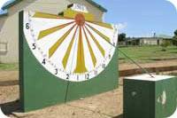 Photo of Napier's Sundial